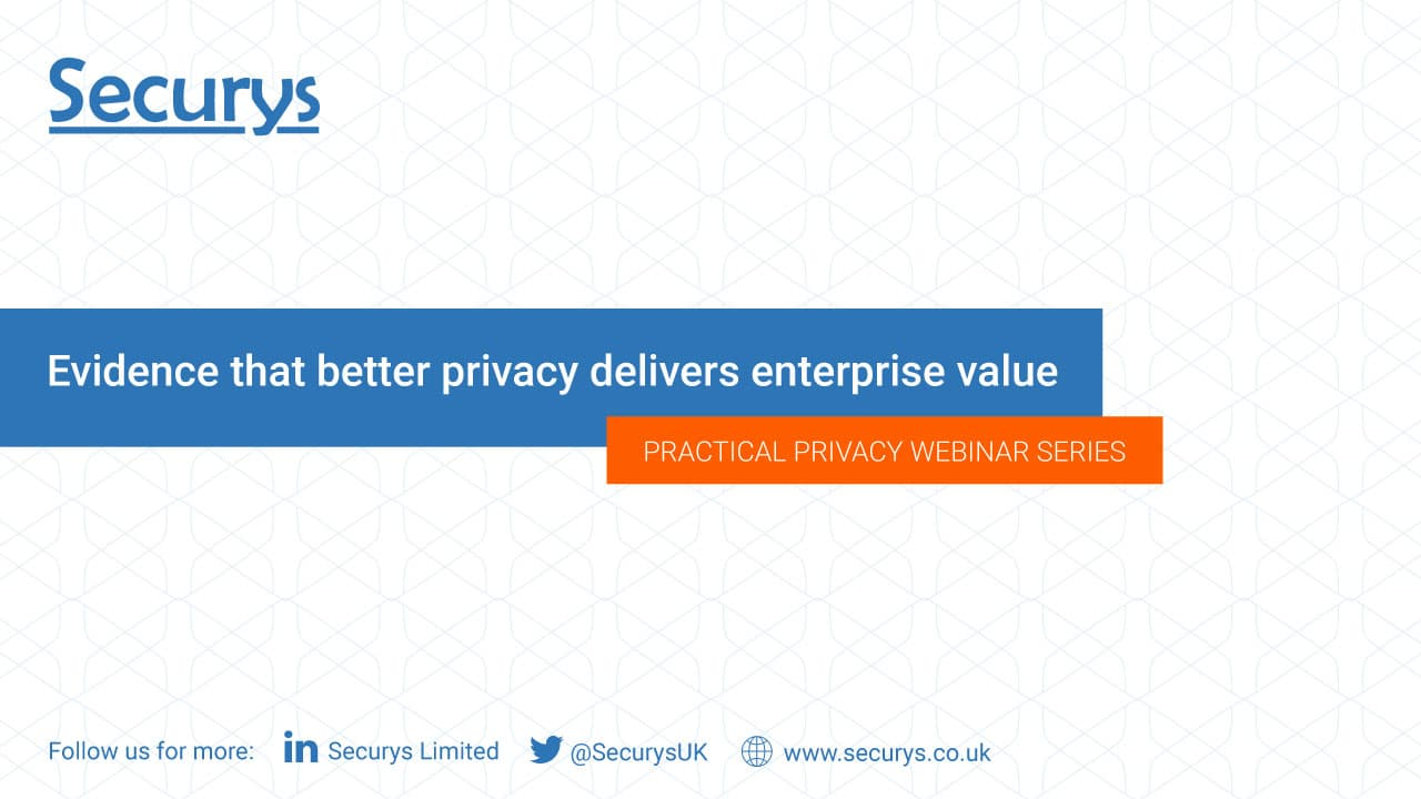 Evidence that better privacy delivers enterprise